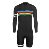 2018 New Design Cycling Body Suit Pro Cycling Clothing Suit Ropa Ciclismo Bicycle Wear Breathable Quick Dry 9D Gel Pad Bike Suit
