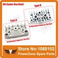 Dirt Bike Pit Bike Monkey Bike 50cc 70cc 90cc 110cc 125cc  Oil Cooler Aluminium Adapter Engine Cylinder Cover Free Shipping