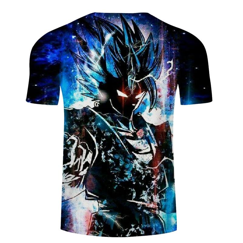 Dragon Ball world tee 3d printed classic anime t shirt men/women casual loose T-shirt 2016 brand men's tops tees clothing