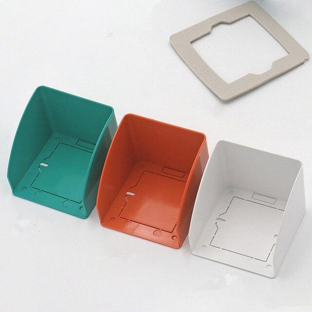 הגנה אנטי גשם עמיד למים כיסוי עבור דלת RFID בקרת גישה מכשיר מכונת מערכת/קורא/פעמון/לחצן יציאה