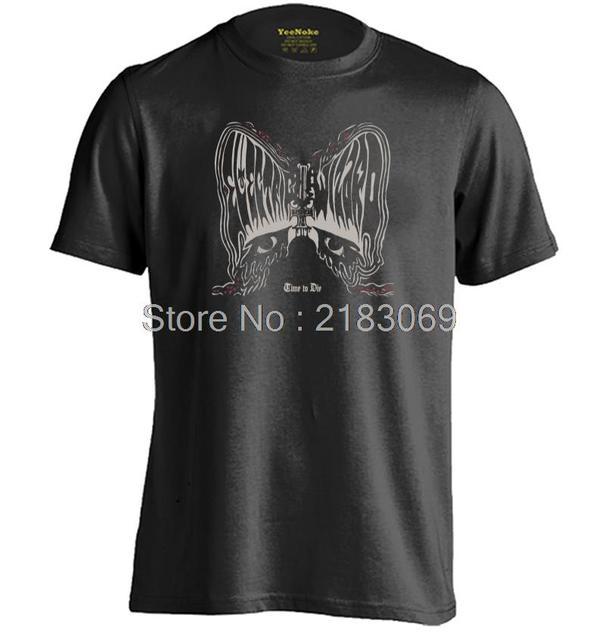 Electric Wizard Doom Metal Tiempo Para Morir Para Hombre y Para Mujer Fresco Camiseta Personalizada Camiseta