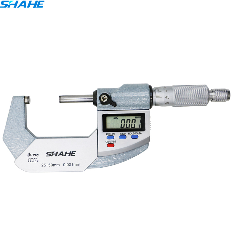 IP 65 digital micrometer 0 001 mm digital caliper vernier gauge micrometer 25 50 mm digital