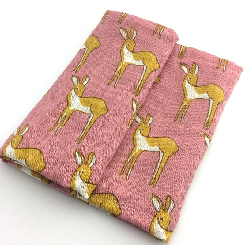 Новинка; хлопковое детское одеяло для новорожденных; мягкое детское одеяло из органического хлопка; муслиновое Пеленальное Одеяло для кормления; тканевое полотенце; шарф; детские вещи - Цвет: 20