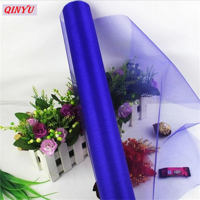 48CMx5M Tulle Roll Crystal Tulle Organza Roll Spool dress Soft Wedding  Christmas Birthday Party Kids Favors Baby Shower 5zSH015 5256483aad45