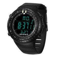 Military-Watches Waterproof Sports Dial Digital Luminous Men Fashion 50M Dive Swim Outdoor