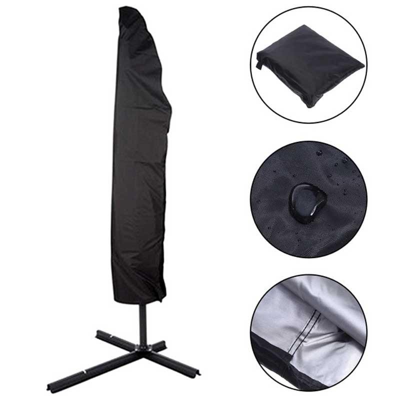 Водонепроницаемый чехол для зонта во дворе, дождевик с кулиской для защиты от пыли, консольный коврик
