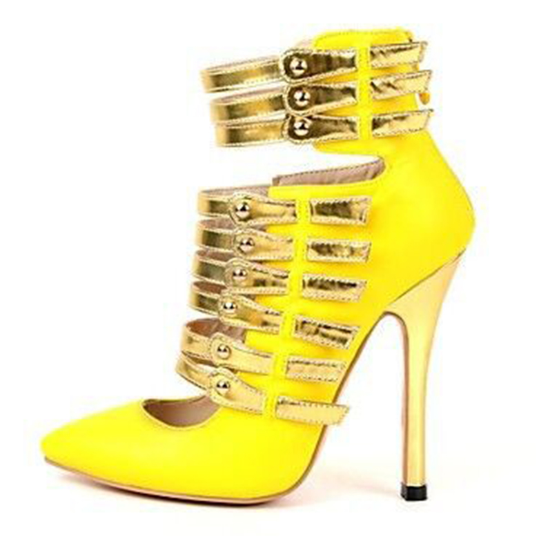 Online Get Cheap Bright Yellow Heels -Aliexpress.com | Alibaba Group