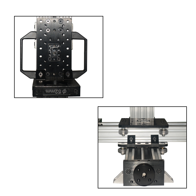Image 3 - Free Shipping MiniMill CNC Machine Mechanical Kit 3 Axis Desktop MiniMill CNC Kit with 175 oz*in Nema 23 stepper motors3D Printer Parts & Accessories   -