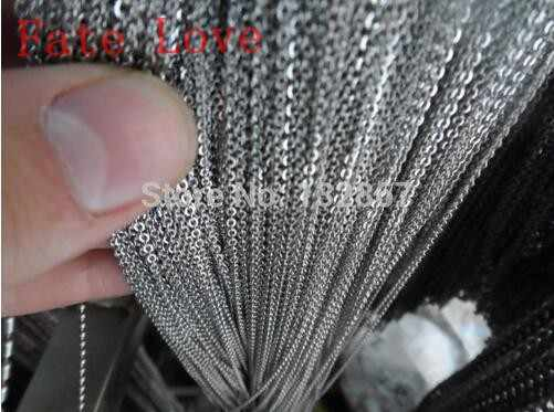 Fate Love 10 метров тонкий 2 0 мм Ювелирные изделия по оптовым ценам в поисках овальной