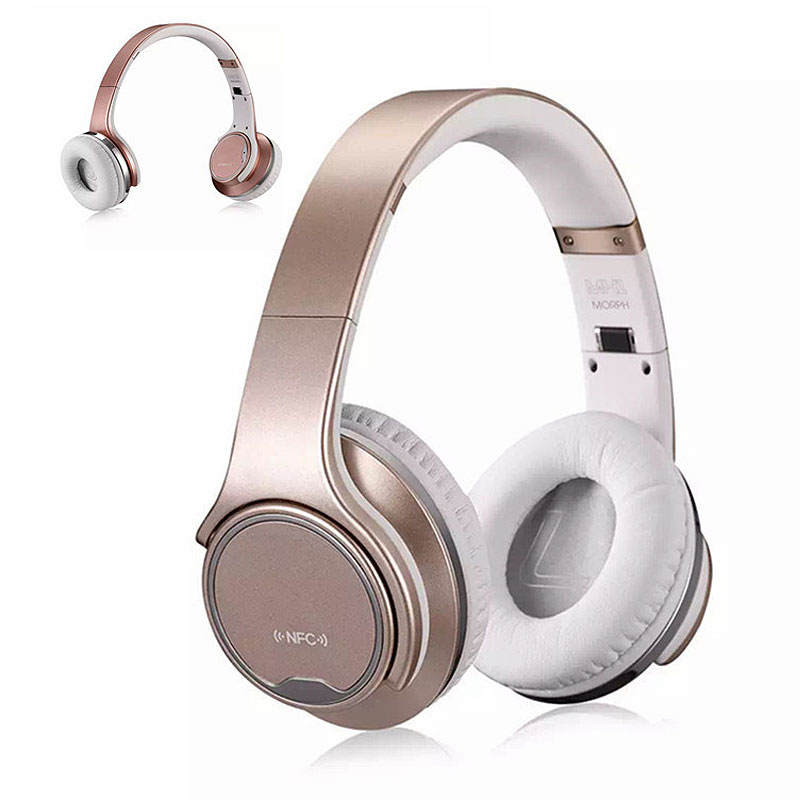 Folder Wireless Headphone Over Ear Stereo Music Casque Bluetooth Headset with Mic/NFC Earbud Case sluchatka for TV Phone PC