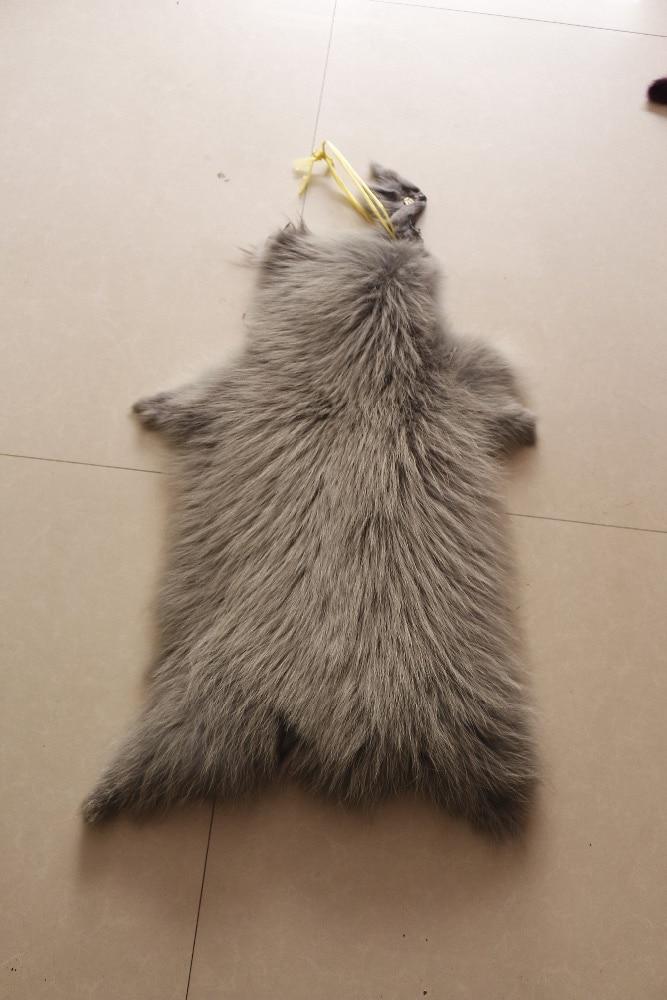 ALICEFUR. Véritable peau de fourrure 100% véritable fourrure de raton laveur 70 cm hiver pour les femmes vente chaude couleur personnalisée,