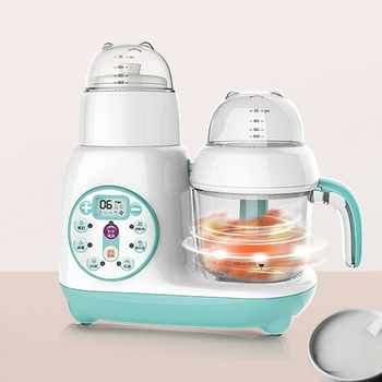 Multi-function Assist Food Machine Electric Blender Boiling Stiring Automatic Meat Grinding Juicer FSJ-D1 Baby Food Cooker baby assist food machine multi function fruit vegetables mill grinder electric baby food steam cooking mixing machine