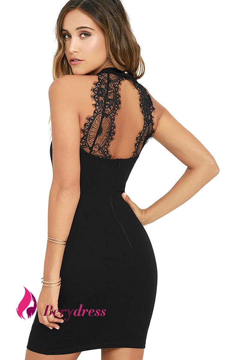 HTB1qxhxRXXXXXXCXVXXq6xXFXXXq - Mini Dress Sexy Nightclub Black Lace Bodycon Dresses PTC 241