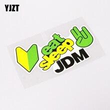 YJZT, 13,1 см* 7,1 см, модная, есть сон, JDM, Спортивная, автомобильная наклейка, наклейка, ПВХ, водонепроницаемая, 13-0256