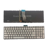 New FR Laptop Keyboard for HP Pavilion 15 ab 15 AK bc 15 ab000 15 ab100 15 ab200 15z ab100 noframe Silver FR Backlight Keyboard