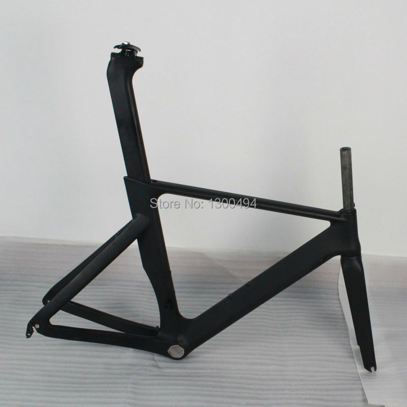 Carbon Time Trial Frame for Out Door Cycling 700C TT frameset+Wheels+fork+seat post +seat post clamp KQ-TT03 track frame fixed gear frame bsa carbon 1 1 2to 1 1 8 bike frameset with fork seatpost road carbon frames fixed gear frameset