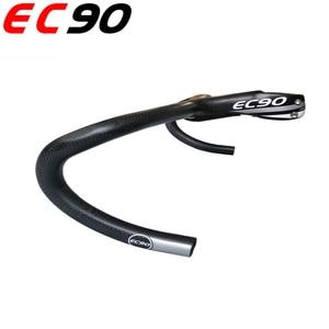 Image 5 - 2019 EC90 フルカーボンファイバーロードバイクハンドルバースポーツカーワンピース幹カーボンハンドルバイク本物のオリジナルハンドル