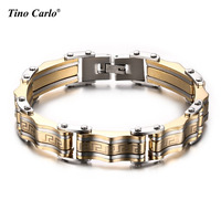 Men S Bracelet Bangle 316l Stainless Steel Male Jewelry Charming Great Wall Carving Bracelet For