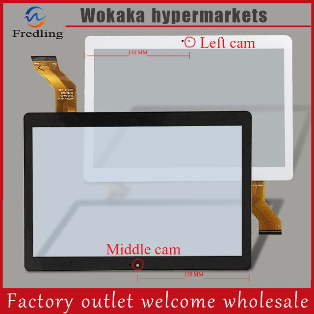 Tempered glass protector flim For 10.1 BDF Tablet WY-CTP001 V1 WY-CTP001-V1 YLD-CEGA442-FPC-A0 Touch screen Panel Glass Sensor