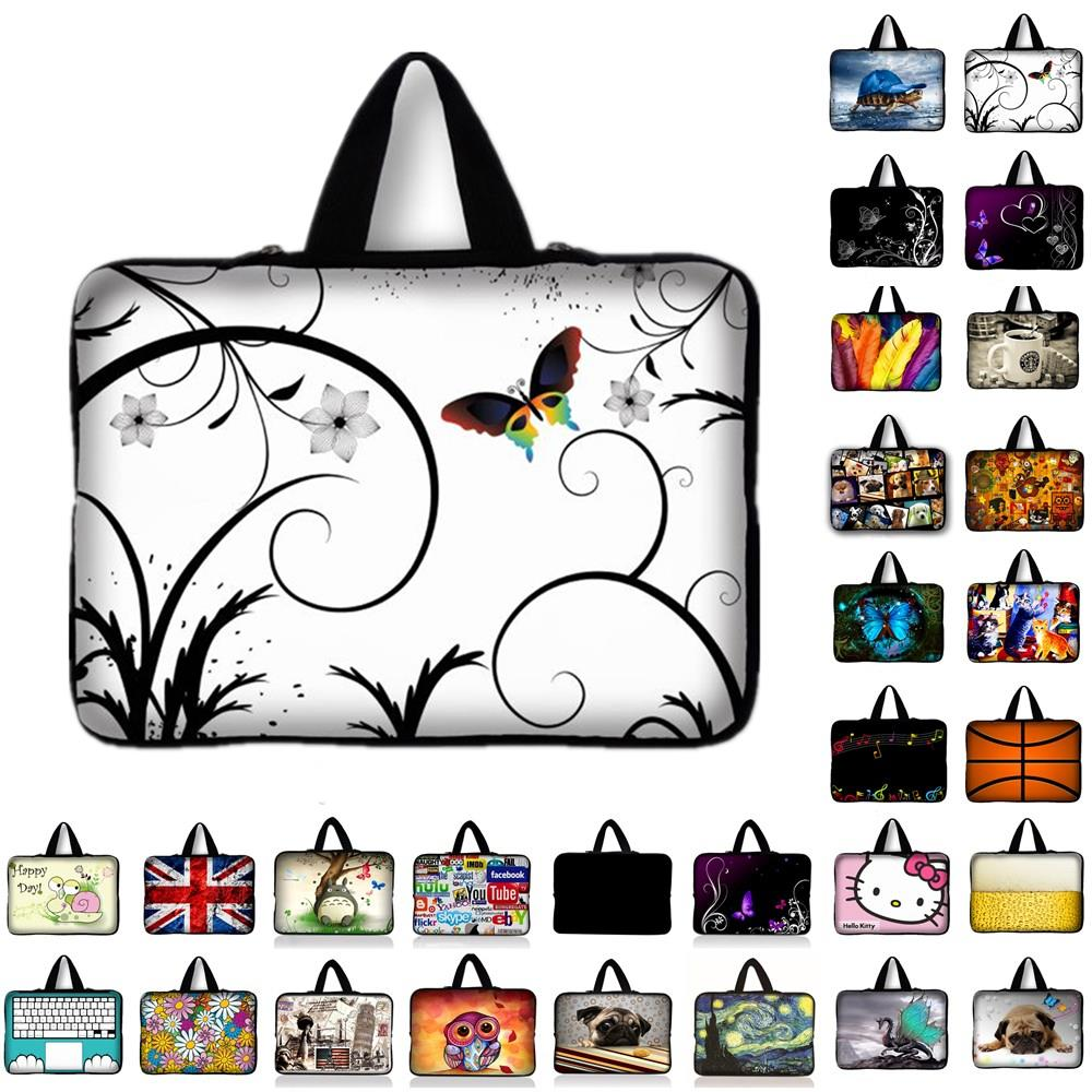 7 10 12 13 14 15 17 Neoprene Laptop Bag Sleeve Pouch Bag For Notebook Computer Bag 13.3 15.4 15.6 17.3 For Macbook Air / Pro #2