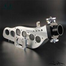 Воздухозаборный коллектор+ 65 мм дроссельная заслонка Fit N* issan S* kyline RB20DET R32 GTS
