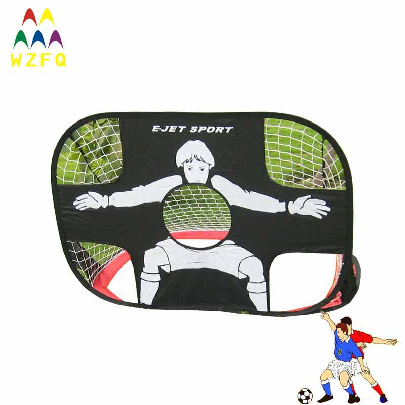 e5e58043734832 Free shipping 2in1 funny football goal for soccer games, sport games, racing  games and education toy-in Toy Sports from Toys & Hobbies on Aliexpress.com  ...
