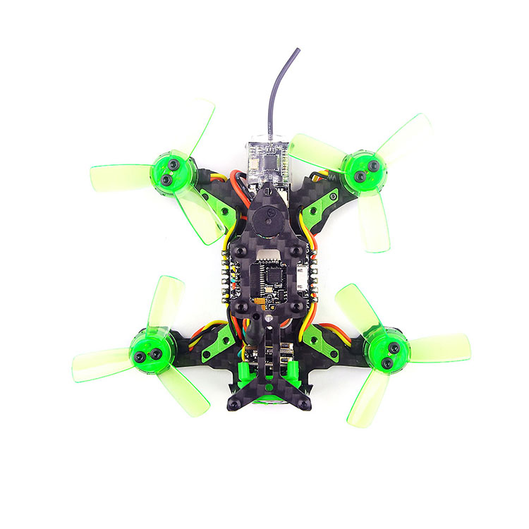 Happymode Mantis 85 Micro FPV Racing Drone BNF กับ Frsky D8/Flysky 8ch/สนับสนุน Specktrum DSM/X อุปกรณ์รับสัญญาณ-ใน ชิ้นส่วนและอุปกรณ์เสริม จาก ของเล่นและงานอดิเรก บน   3