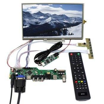 TV HDMI VGA AV USB LCD Controller Board 10.1inch 1366X768 B101XAN01 Touch LCD Screen