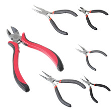 Urijk Multifunctional Black Handle 3 Types Pliers Cutting Multi Tools Cut Line Wire Stripper Hand Tools 11cm 12.5cm
