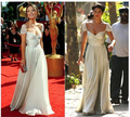 In Stock New Arrival Fashion Style Sweetheart Strapless  Evening Dress Celebrity Dresses Size 2 4 6 8 10 12 Color Ivory