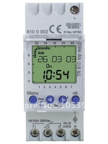 Electrical Equipment Digital time switch TR 610 top2, TR610 TOP2 +fast cheap shipping by FEDEX/DHL/UPS/TNT wholesale new avr r438 fast cheap shipping by fedex ups tnt dhl