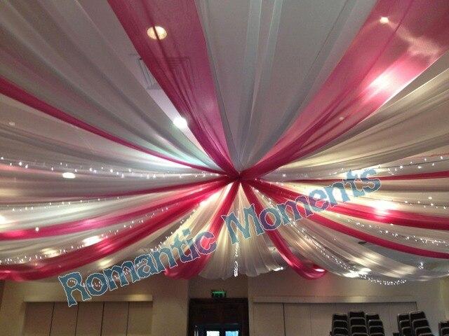 18 Pieces Banquet Style Mediterraneen Plafond Drape De Tentures