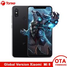 "Global Version Xiaomi Phone Mi8 Mi 8 6GB RAM 64GB ROM CellPhon Dual Rear Camera Snapdragon 845 Octa Core 6.21"" 2248x1080P NFC"