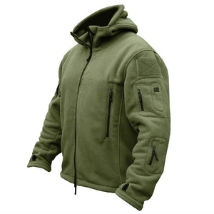 Men US Military Winter Thermal Fleece Tactical Jacket Outdoors Sports Hooded Coat Militar Softshell Hiking Outdoor Army Jackets(China)