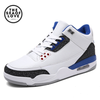 2017 New Professional Men Basketball Shoes Male Sport Shoes Anti Slip Winter Outdoor Athletics Sneakers Plus