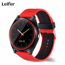Leiefer Bluetooth Smart Watch V9 DZ09 With Camera Smartwatch Pedometer Health Sport Clock Hours Men Women Smartwatch For Android