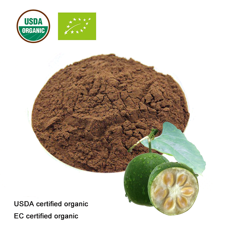 USDA And EC Certified Organic Luo Han Guo Extract 10:1 /Momordica Extract Powder Mogroside V