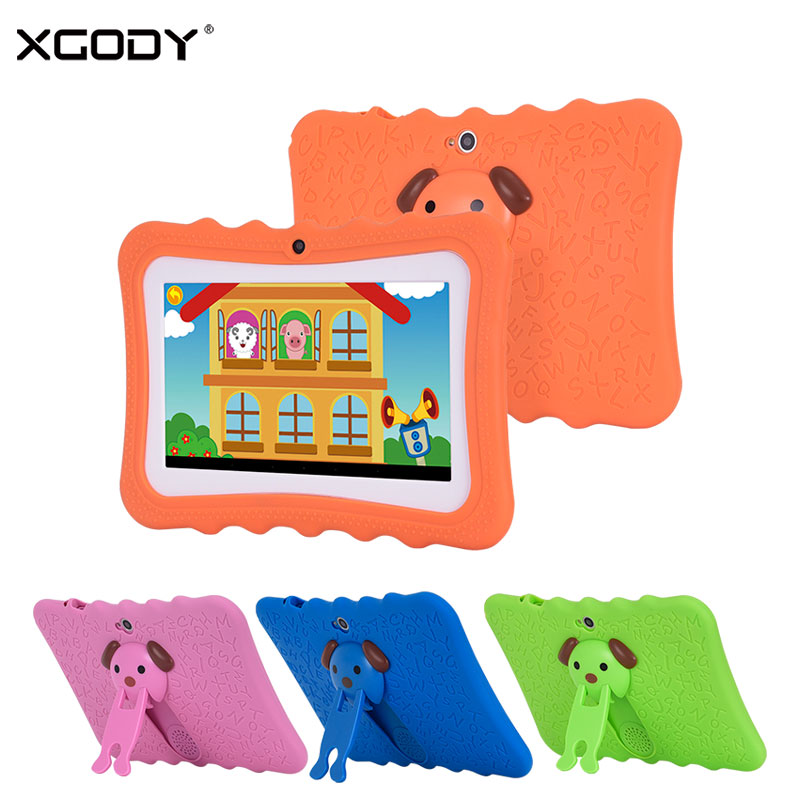 XGODY I711 7 Inch Children Tablet PC Android 4.4 Quad Core 8GB ROM Silicone Case Tablets for Kid Play Store Education Game WiFi odell education developing core literacy proficiencies grade 12