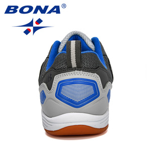 Image 3 - BONA 2019 New Designer Men Soccer Shoes Outdoor Training Football Boots Man Sport Sneakers Athletic Shoes Male Leather Comfortab
