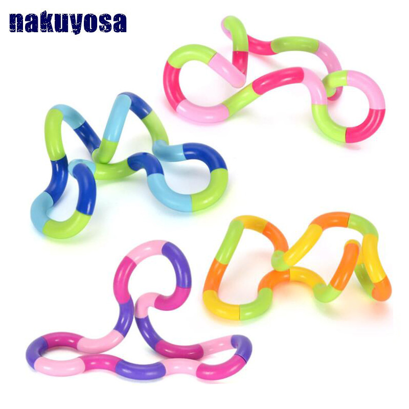NEW Fidget Anti Stress Toy Twist Adult Decompression Toy Child Deformation Rope Perfect For Stress Kids To Play Toys Random Send