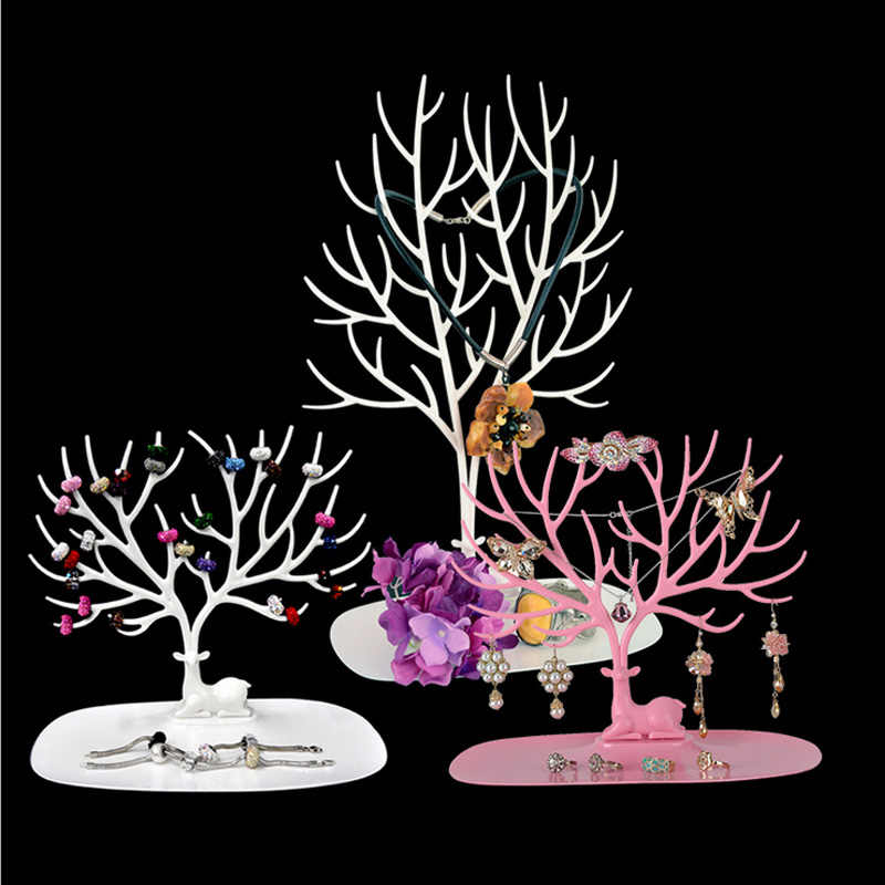 Creative Antlers Jewelry Racks Accessories Rack Ornaments Shelf Display European Style Storage Holder Hot Sale 2017 Tree Branch
