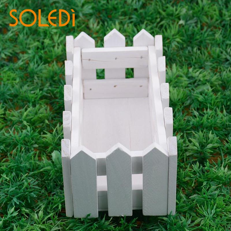 SOLEDI Flower Plant Pot Wooden Window Box Garden Decking Boards Trough fence House ...