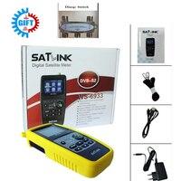 Satlink WS 6933 2 1 Inch LCD Display DVB S2 FTA C KU Band 6933