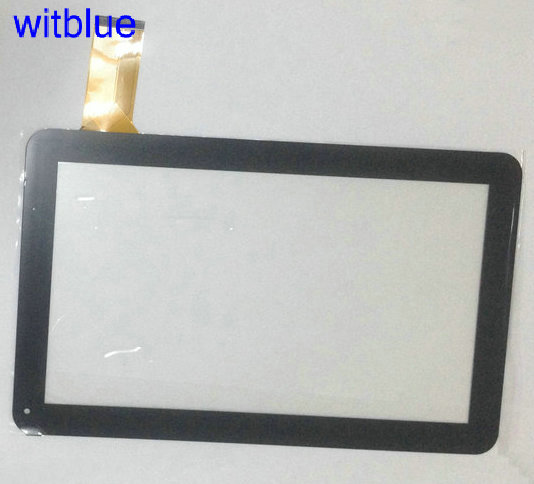 Witblue New For 10.1 KAOS SPEED 10.1 QUAD CORE  Tablet touch screen panel Digitizer Glass Sensor replacement Free shipping new for 10 1 inch bq edison 1 2 3 quad core tablet touch screen digitizer touch panel glass sensor replacement free shipping