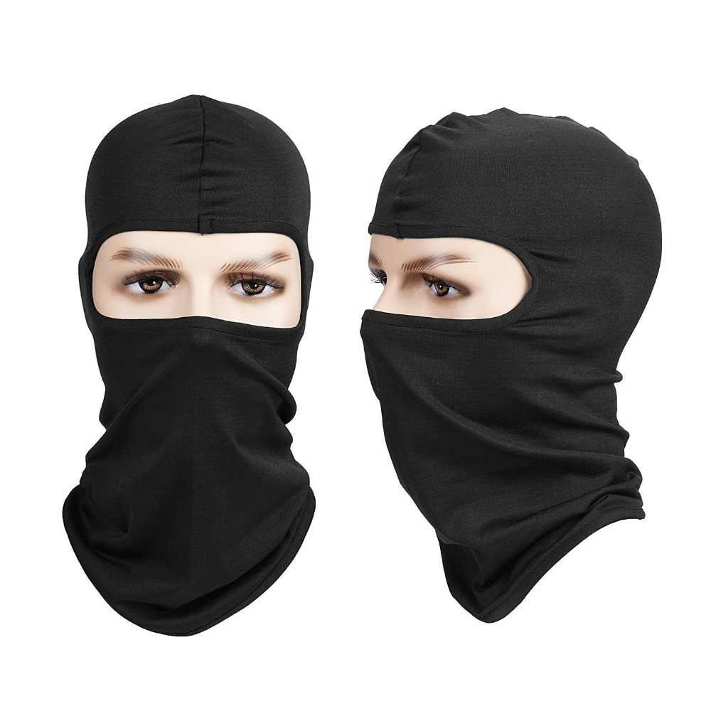 Sun Resistant Outdoors Full Face Mask Windproof Sport Ski Mask, Breathable Anti-dust Balaclava Hood for Riding Skiing Cycling
