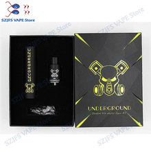 Underground mod Kit vape pen e cigarette mechanical mod for 18650 battery  free shipping Atomize510 thread Full Mech Able Storm new obsidian mechanical mod kit electronic cigarette for 18650 battery with rda atomizer e cigarettes mech mod vape pen mehmod