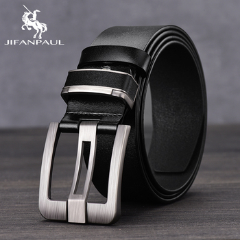 JIFANPAUL Genuine Leather Fashion Belt 3