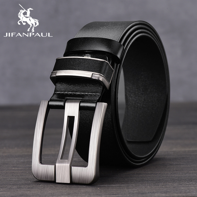 Leather Fashion Alloy Material Pin Buckle Retro High Quality Belts 2