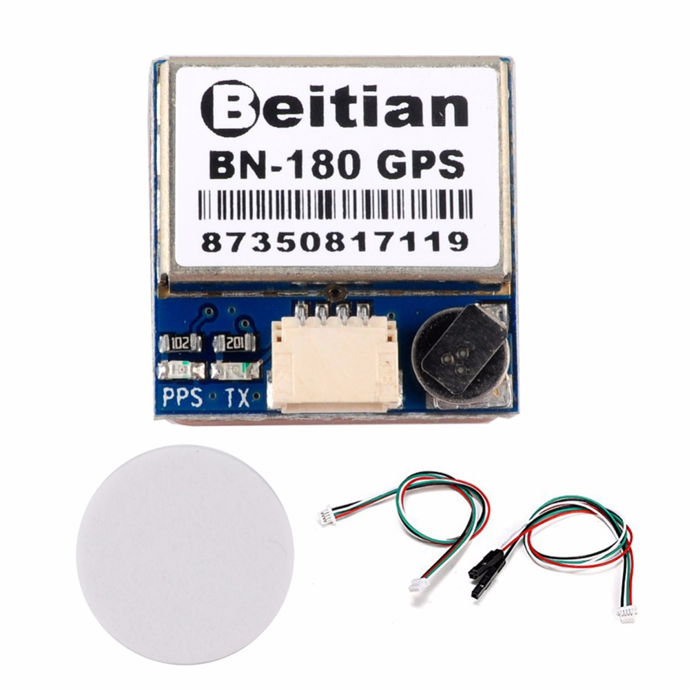 Beitian BN-180 Mini GPS Module Dual GLONASS+GPS Micro Double Antenna UART TTL For CC3D F3 Flight Controller FZ2917 uart ttl level gps module arduino ublox 7020 neo 7m c gnss chip gps module antenna promotional built in flash high quality page 3