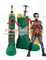 Damian Wayne Robin Batman cosplay Shoes Boots Por Encargo